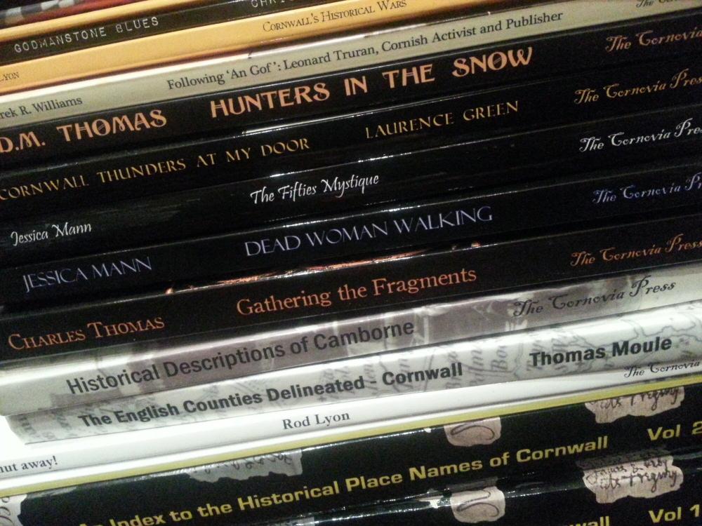 Books published by The Cornovia Press